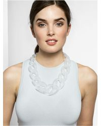 BaubleBar - White Frosted Links - Lyst