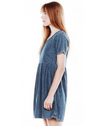 Current/Elliott Blue The Burton Way Dress