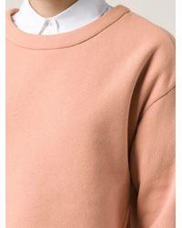 Vika Gazinskaya - Orange Boxy Sweatshirt - Lyst
