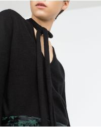 Zara | Black Cashmere Sweater | Lyst
