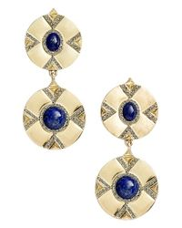 House of Harlow 1960 - Metallic 1960 'dorelia' Coin Earrings - Lyst