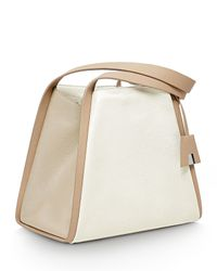 Akris - White Alex Medium Bucket Tote Bag - Lyst