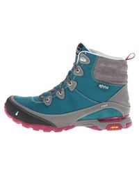 Ahnu - Blue Sugarpine Waterproof Cold-weather Hiking Boots - Lyst