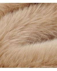 Reiss | Pink Pixie Faux-fur Stole | Lyst