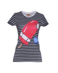 Blomor - Blue T-shirt - Lyst