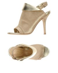 Lola Cruz - Metallic Sandals - Lyst