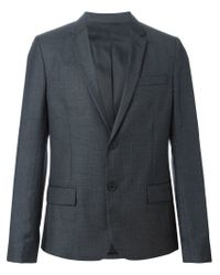 AMI - Gray Classic Blazer for Men - Lyst
