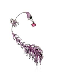 Wendy Yue | Pink The Wild Willbow Mono Ear Cuff | Lyst