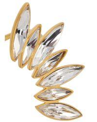 Ca&Lou - Metallic Alexa 24Kt Gold Plated Swarovski Bracelet - Lyst