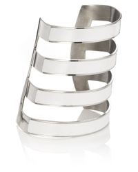 Iam By Ileana Makri | White Gold Ziggy Arm Cuff | Lyst
