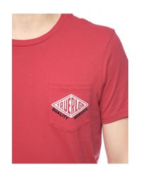 True Religion | Red Hand Picked Pocket Motor Mens Tee for Men | Lyst