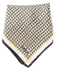 Fefe | Yellow Egg Print Pocket Square for Men | Lyst