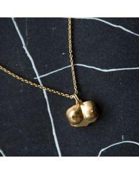 Kelly Wearstler   Metallic Bust Pendant Necklace   Lyst