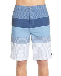 Rip Curl - Blue 'mirage Classics Boardwalk' Colorblock Shorts for Men - Lyst
