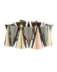 Sarah Magid | Metallic Large Mixed Metal Cone Bracelet | Lyst