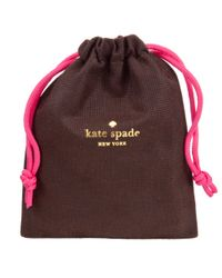 kate spade new york - Metallic Leverbacks Body Pearl Drop Earrings - Lyst