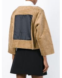 AALTO | Brown Photo Print Fluffy Sweater | Lyst