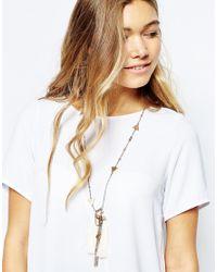 Nali - Metallic Tassel Necklace - Lyst