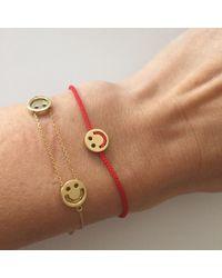 Ruifier   Metallic Visage Friends Happy Bracelet   Lyst