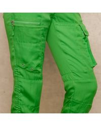 Ralph Lauren Blue Label - Green Drawstring Cargo Pant - Lyst
