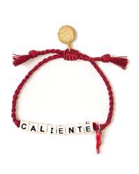 Venessa Arizaga | Red 'Caliente' Bracelet | Lyst