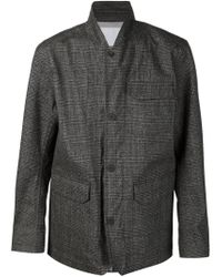 White Mountaineering - Gray Checked Jacket for Men - Lyst
