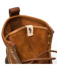 Visvim - Grizzly Boots Mid-folk In Light Brown for Men - Lyst