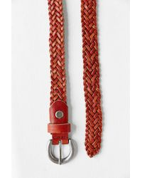Kimchi Blue - Brown Multi-strand Braided Belt - Lyst