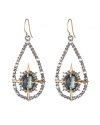 Alexis Bittar - Green Indian Blue Sapphire Petite Wire Earring You Might Also Like - Lyst