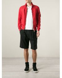C P Company | Red Zip Front Jacket for Men | Lyst