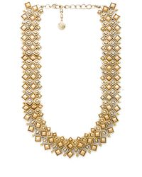 House of Harlow 1960 | Metallic Kraals Statement Necklace | Lyst