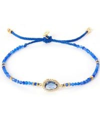 Tai | Blue Starburst Beaded Bracelet | Lyst