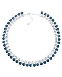 Swarovski | Blue Hot Montana Collar | Lyst