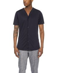 Still Good - Blue Avant-garde Baseball Shirt for Men - Lyst