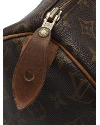 Louis Vuitton - Brown Speedy 30 Monogram Bag - Lyst