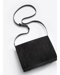 Vince | Black Fringe Medium Shoulder Bag | Lyst