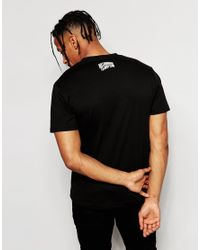 Billionaire Boys Club - Ice Cream - Black T-shirt With Astronaut Print for Men - Lyst