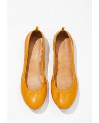 Forever 21 - Orange Classic Ballet Flats - Lyst