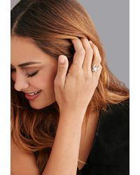 Forever 21 | Metallic The 2 Bandits Midnight Crescent Ring | Lyst