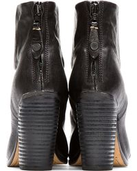 Rag & Bone | Black Leather Classic Newbury Ankle Boots | Lyst