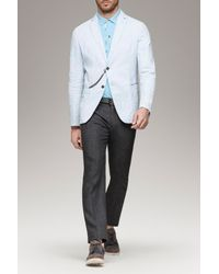 Armani | White Linen Jacket for Men | Lyst