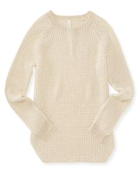 Aéropostale | Natural Long Sleeve Knit Tunic | Lyst