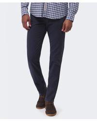 Cerruti 1881 Blue Slim Fit Gabardine Jeans for men