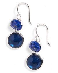 Ippolita   Blue 'wonderland' Drop Earrings   Lyst