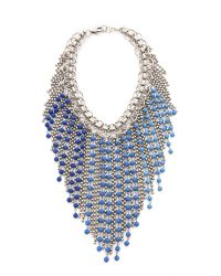 DANNIJO | Metallic Glynn Necklace | Lyst