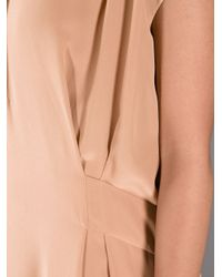 See By Chloé - Pink Flared Dress - Lyst