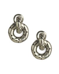 John Hardy - Metallic Kali Door-knocker Earrings - Lyst