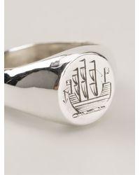 Henson - Metallic Ship Ring - Lyst