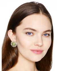 kate spade new york - Multicolor Razzle Dazzle Statement Studs - Lyst