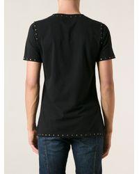 Vivienne Westwood - Black Studded Tshirt for Men - Lyst
